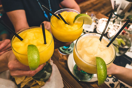 Toast with Margaritas