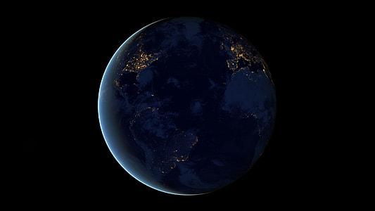 Planet Earth digital wallpaper