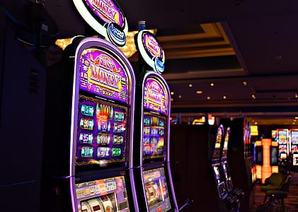 multicolored East Money slot machines