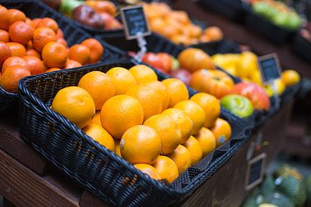 Fresh Oranges on Small Farmer's Market
