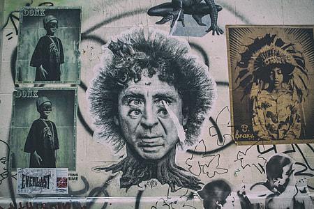 Street art captured in Shoreditch