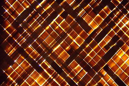 brown woven straw mat