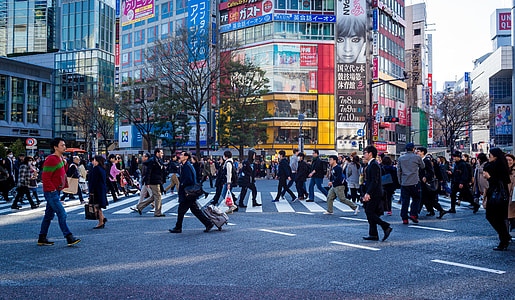 group of people walking on the city during daytime