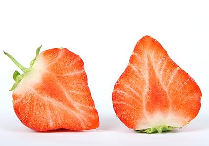 Sliced Strawberry