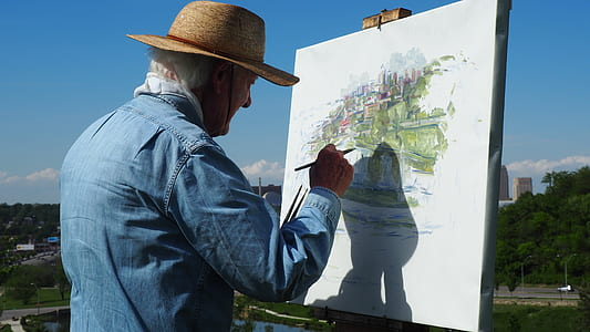 man paint environment
