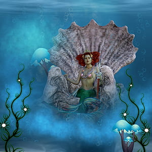 Disney Ariel underwater wallpaper