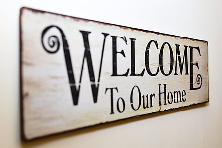 Welcome To Out Home signage
