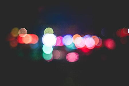 Colorful Funfair Bokeh