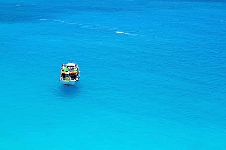 Yacht In Body Of Water