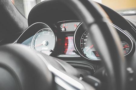 Sport Car Black Dashboard