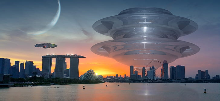 Marina Bay Sands in Singapore wallpaper