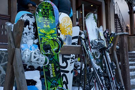 Ski Snowboard Equipment Winter