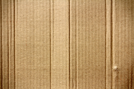 brown cardboard surface