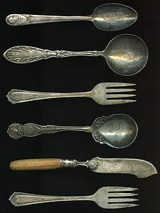 gray steel ladles