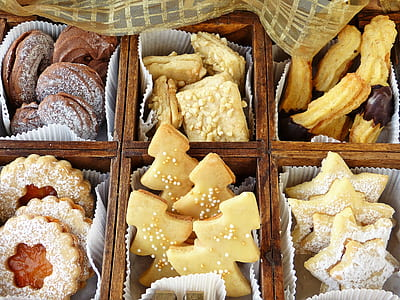 bunch of pastries