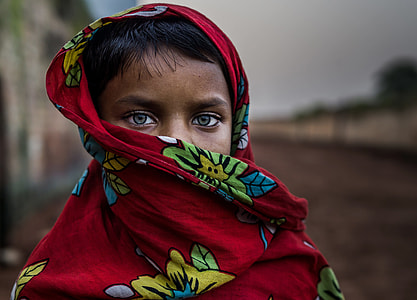 Rural girl from bengal.