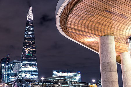 A slightly different compositional take on The Shard skyscraper in Central London