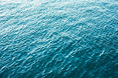 Minimalistic Blue Calm Sea