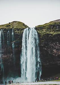 waterfall taken during daytime