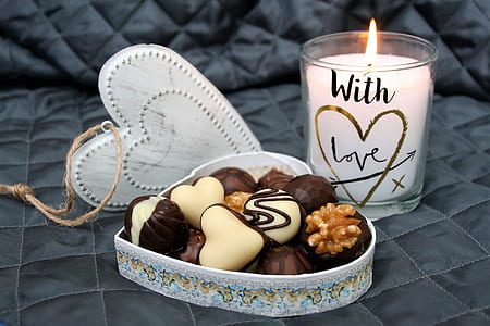 heart cookie gift set