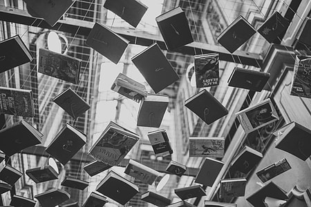 Books Sculpture Modern Art