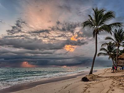 Sea Side during Sun Set