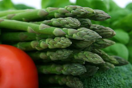 closeup photo of green vegetables