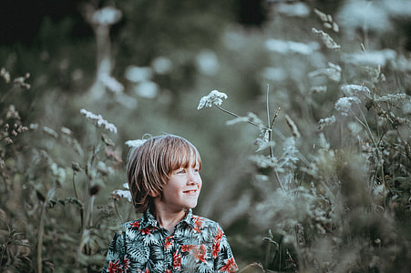 Child in the countryside