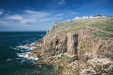 Landscape photo captured at Land's End, Cornwall. This is the most westerly point of mainland England