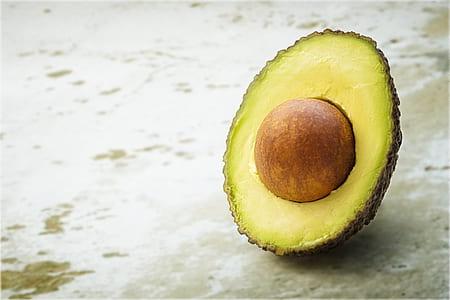 sliced of avocado fruit