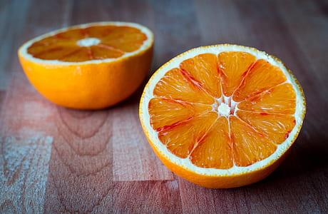 orange fruit sliced