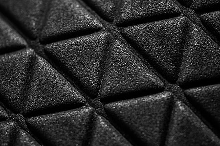 Triangle 3D Abstract Macro Pattern