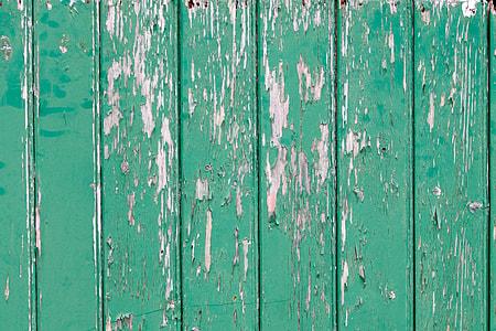 cyan wooden board