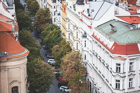 Parizska Street in Prague, Czech Republic