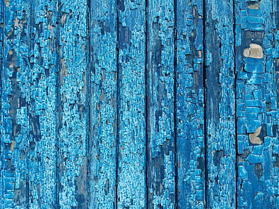 blue wooden panel