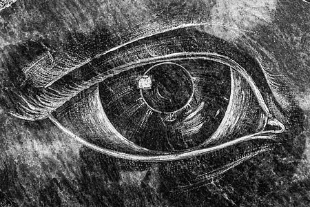 person's eye illustration