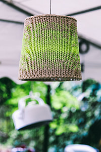 Woolen lamp covers