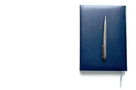 grey click pen
