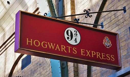 Hogwarts Express road signage