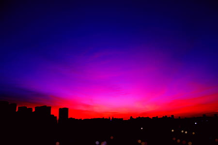 Photo of Blue and Red Skies