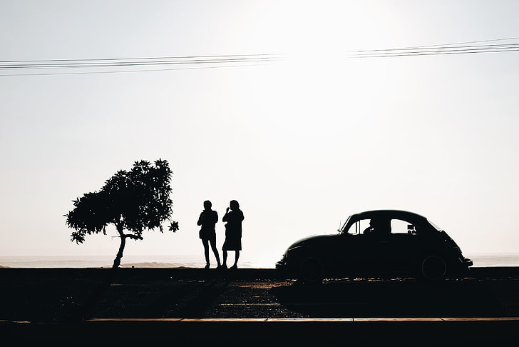 Volkswagen Beetle Car Silhouette