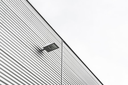 Architecture Minimalism Light on Modern Building