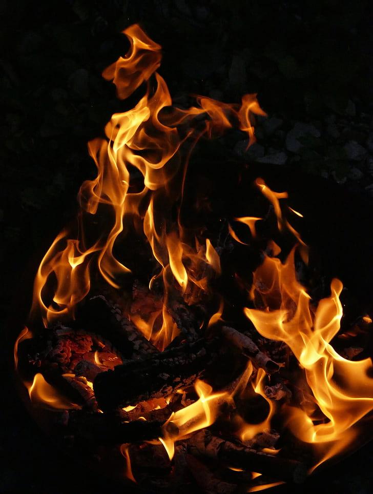 bonfire photography