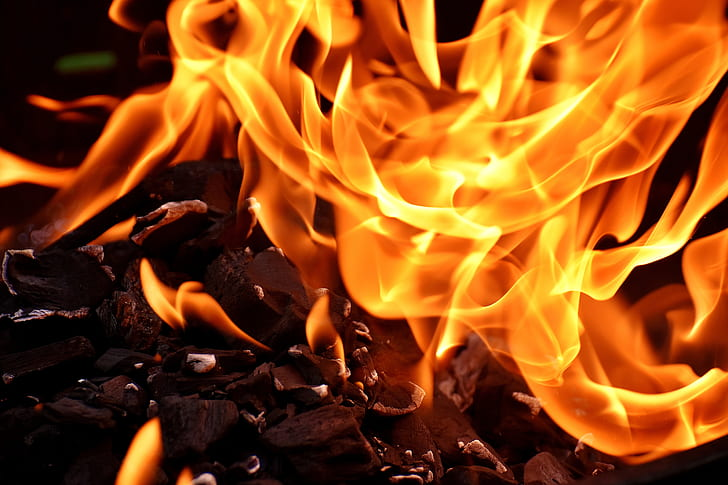 fire flames ]