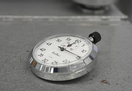 gray stopwatch