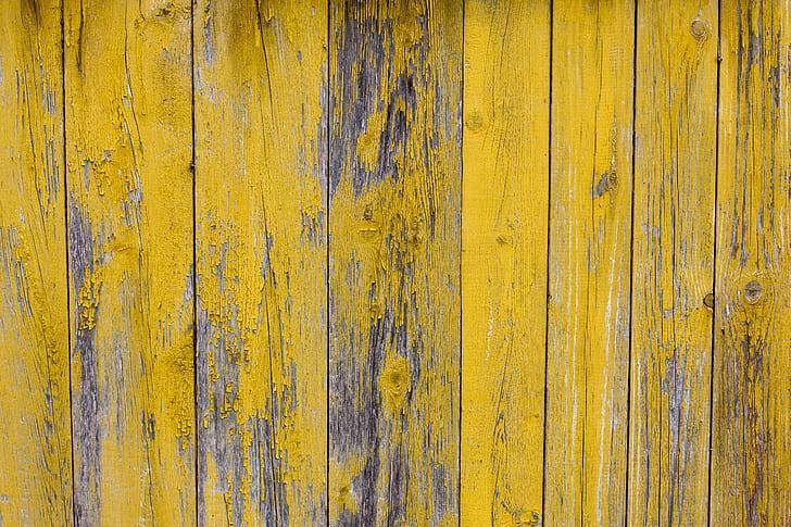yellow wood pallet board