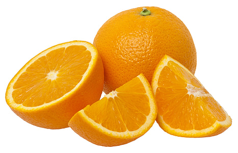 sliced of orange fruits