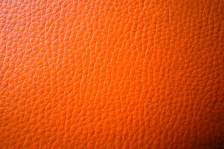 red leather textile