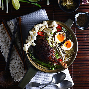 Barbecued Roasted Duck Ramen