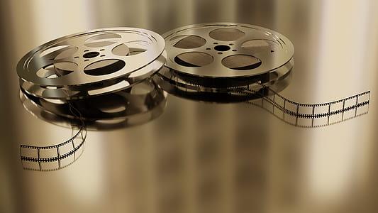 two film reels